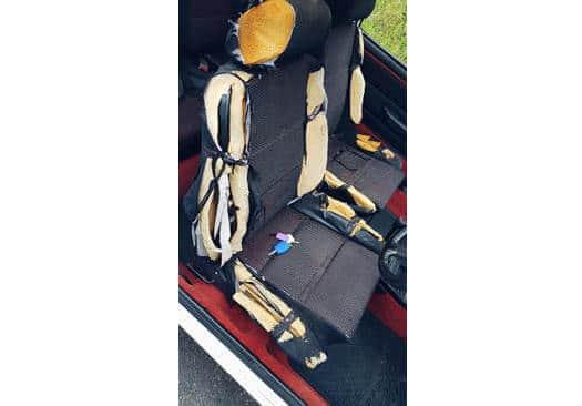 caravan upholstery