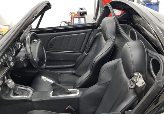 morgan interior upholstery