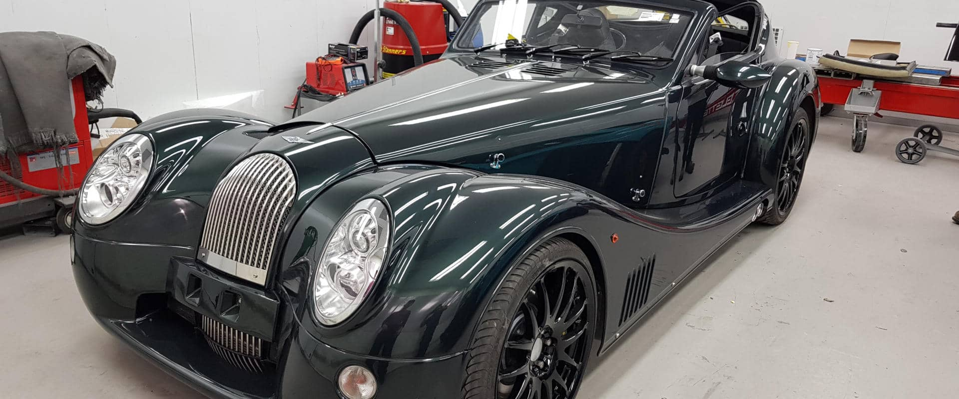 morgan sports car upholstery specialist.